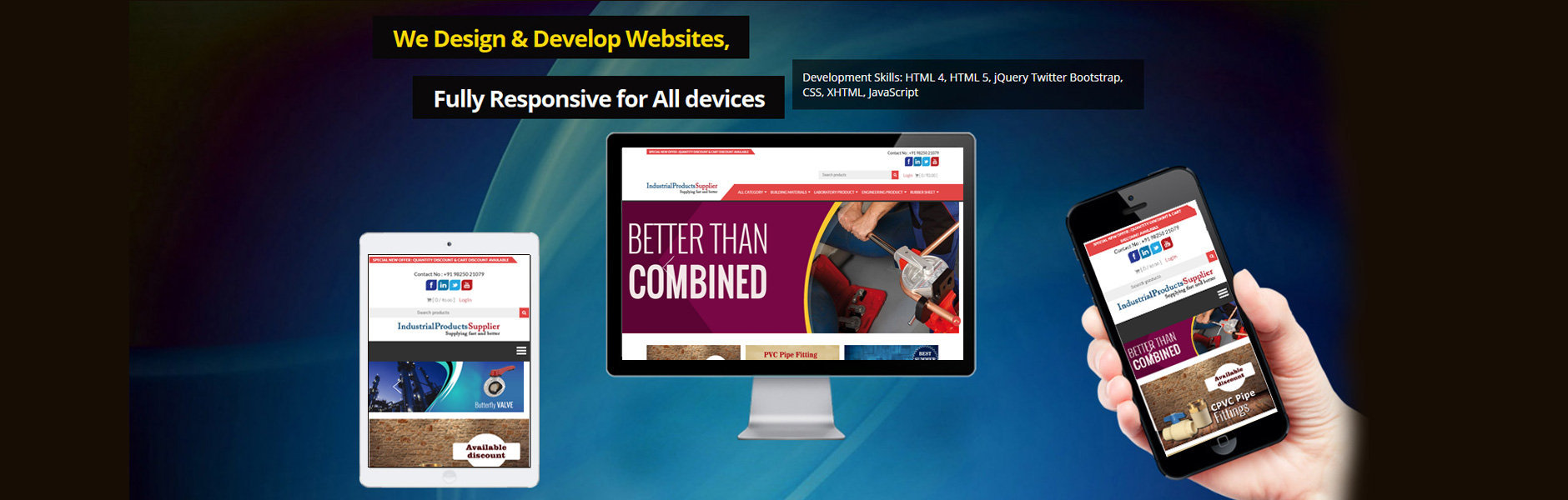Static and Dynamic Website Designing